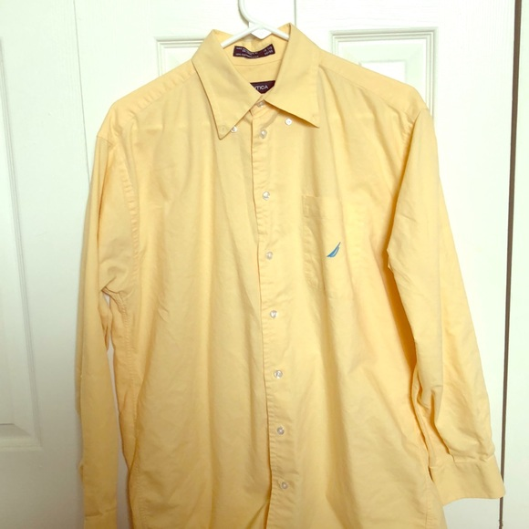 Nautica Other - 💛🔆NAUTICA MEN'S yellow Dress/Casual shirt 🔆💛